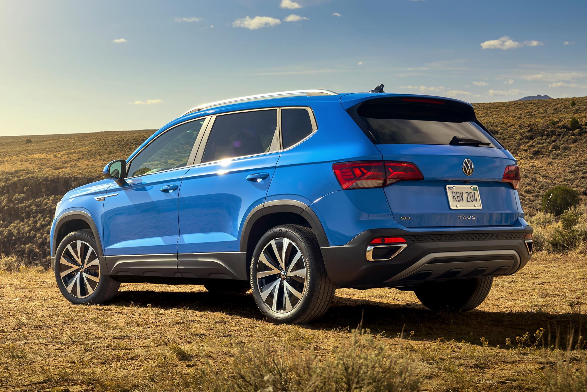 Volkswagen Taos para o México
