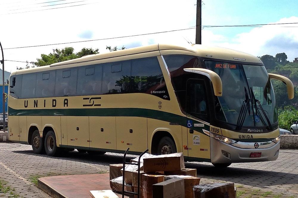 Ônibus da Viação_ nida em Coronel Fabriciano