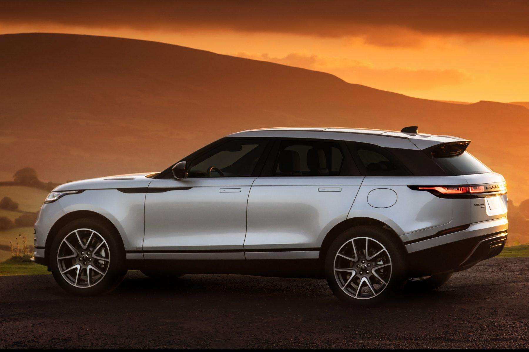 Lateral da nova Range Rover Velar 2021