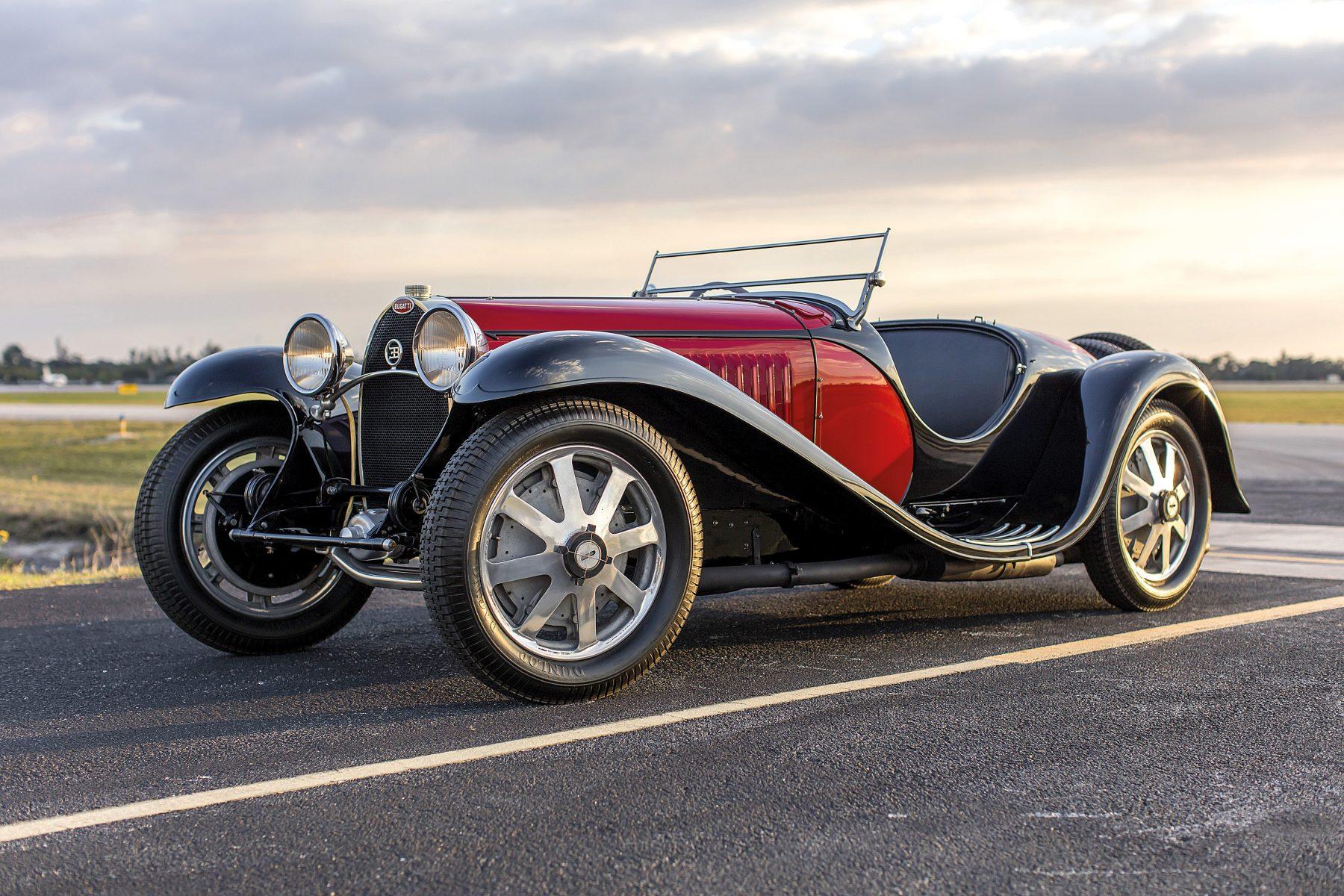 Type 55 S. Sport Roadster 1932 - Via 742 Quatro Rodas