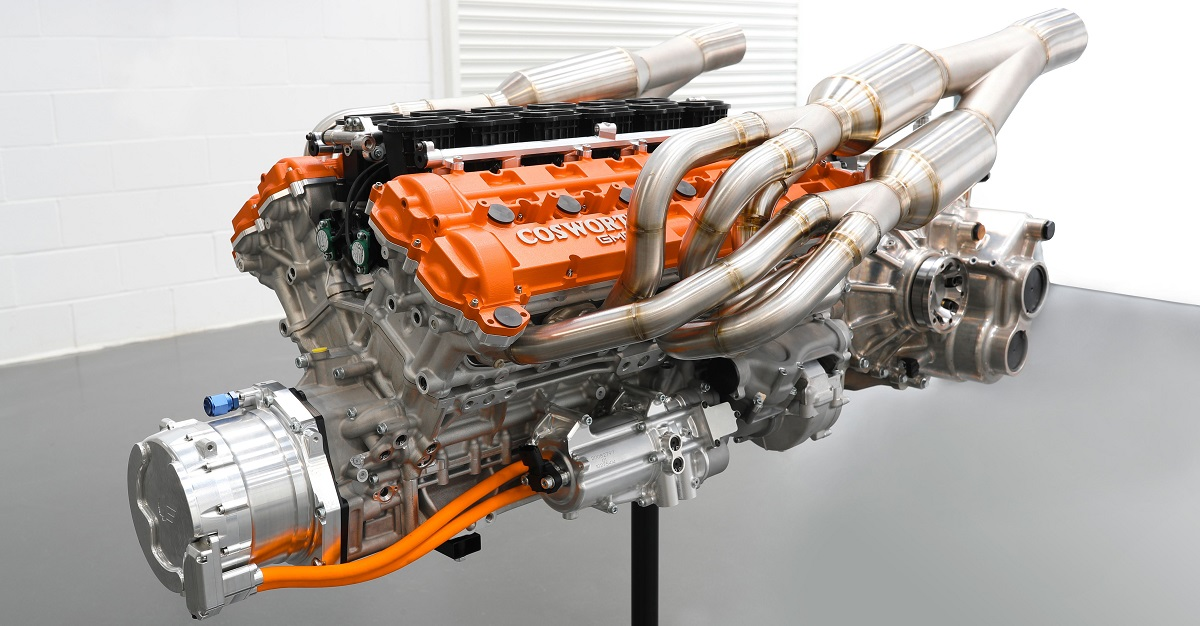 Acredite se quiser: o motor pesa apenas 162 kg