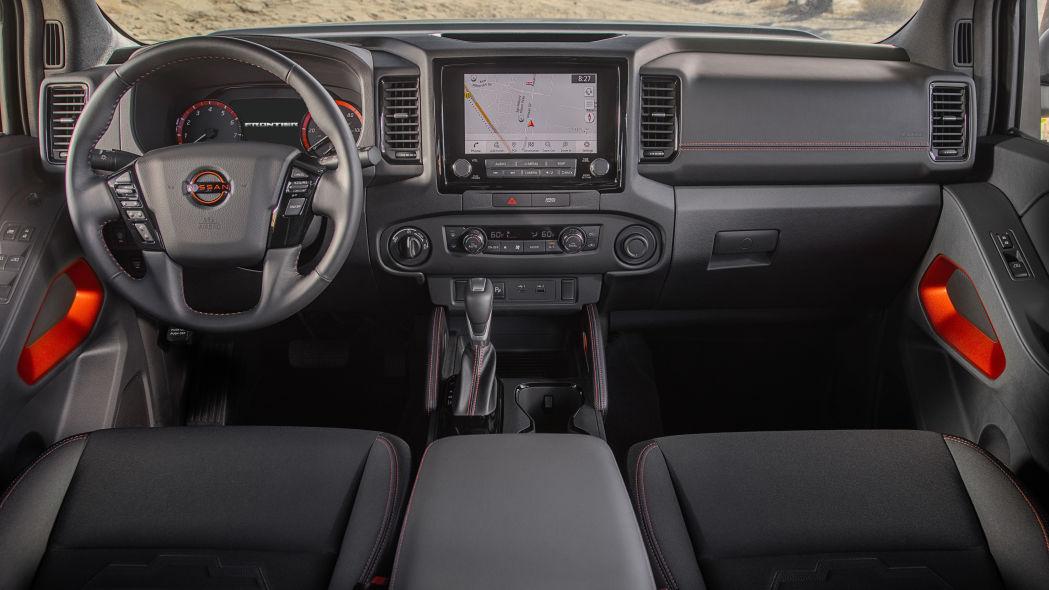 Cabine da nova Nissan Frontier 2022