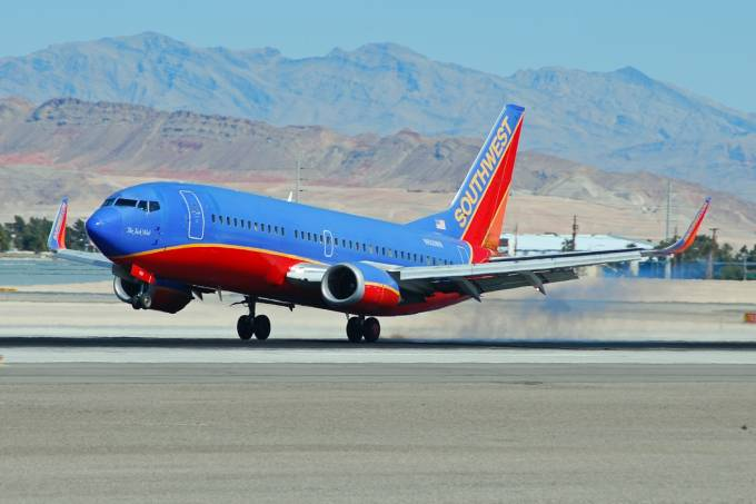 Boeing 737-300 da Southwest Airlines 2012