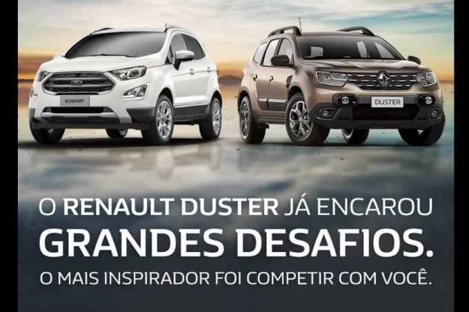 EcoSport e Duster