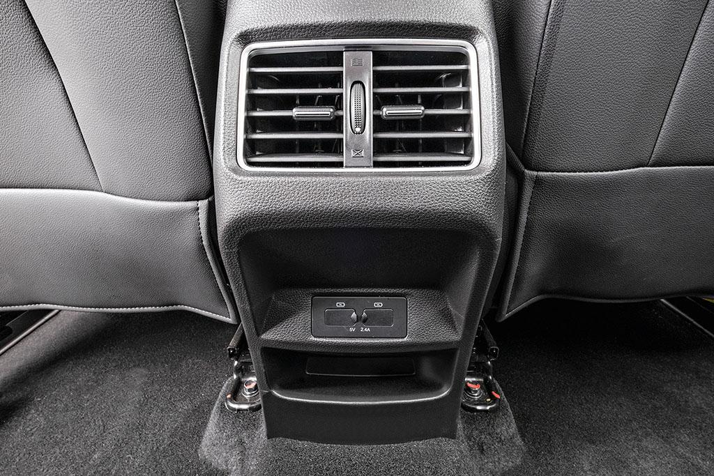 Saídas de ventilação do SUV JAC T60 Plus