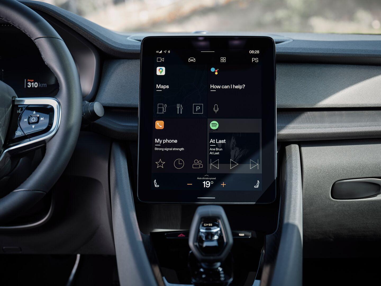 Volvo Polestar 2 é um dos pioneiros na adoção do Android embarcado