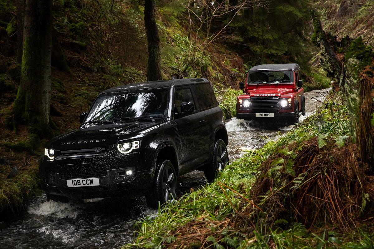 Inspiração no passado é vital à Land Rover, que também não abre mão de inovar