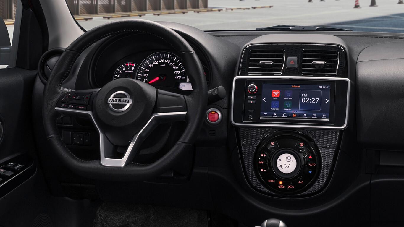 Sem confirmação da Nissan, fontes locais dão conta que todas as versões contarão com central multimídia