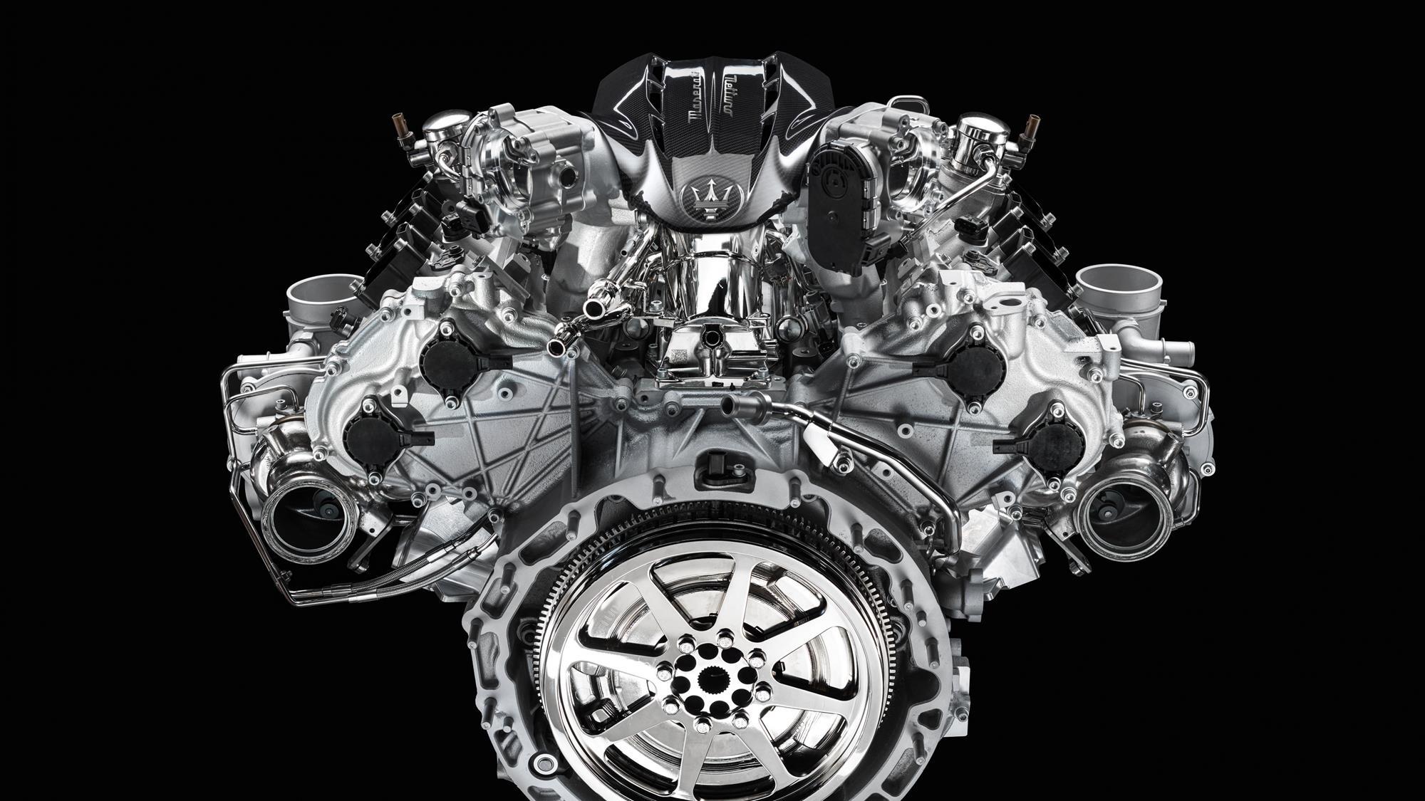 Maserati Nettuno Engine Lab v6 3.0