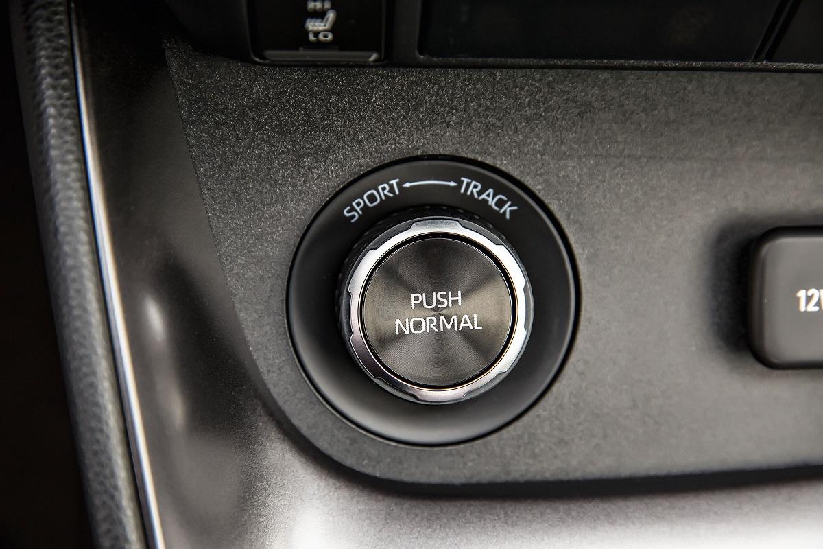 Botão seleciona distribuição do torque