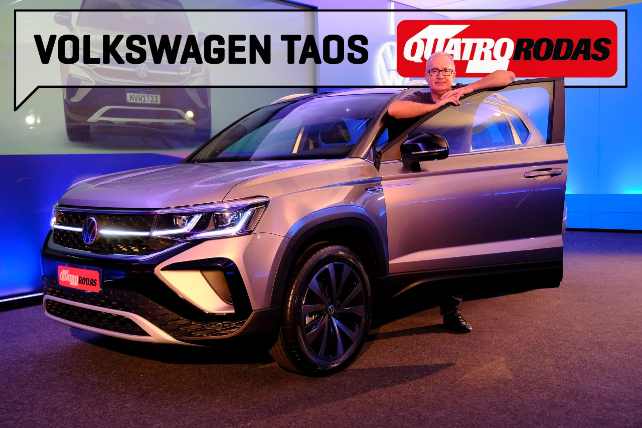 Vídeo: VW Taos supera Jeep Compass e Toyota Corolla Cross?