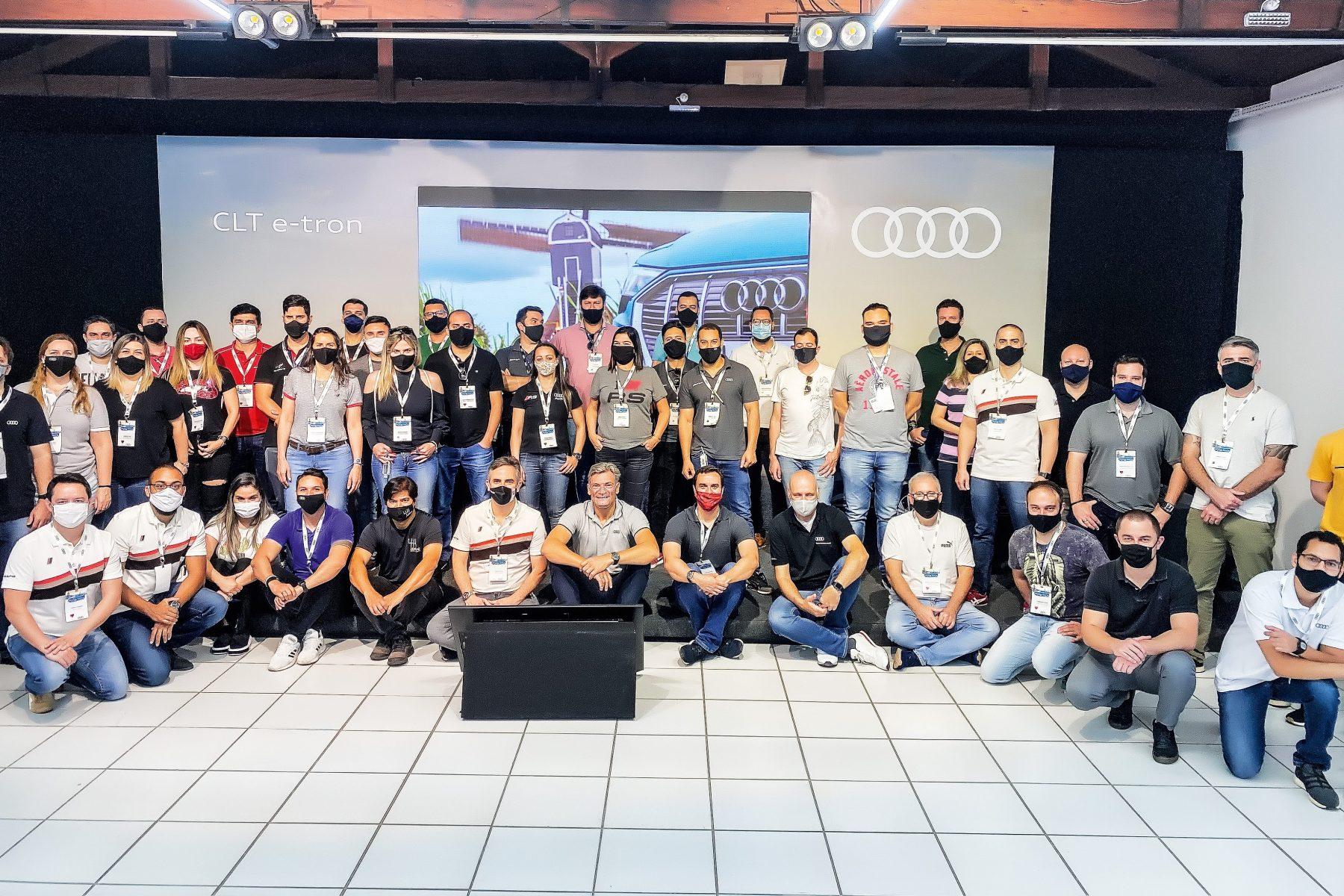 Treinamento de vendas Audi e-tron