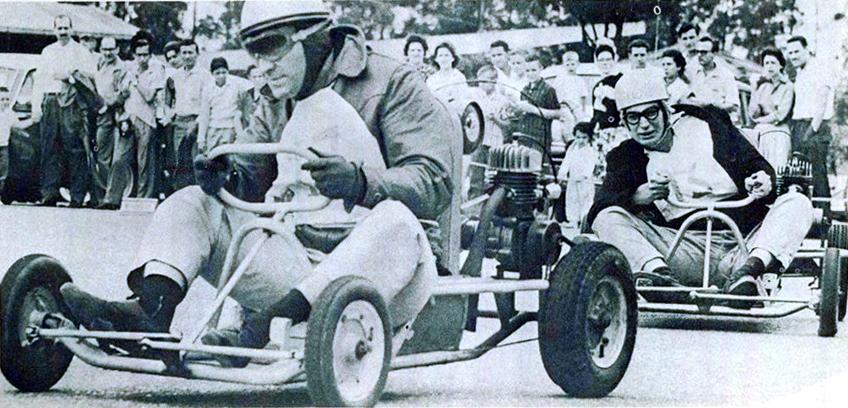 Uma das regras dos primeiros campeonatos de Kart no Brasil era a de que o carro fosse 90% fabricado no Brasil, o que incentivou a produção nacional