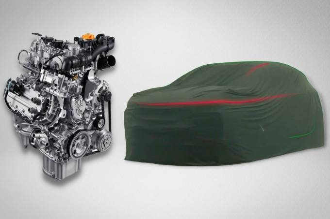 Novo SUV da Fiat terá motor 1.0 turbo e câmbio CVT