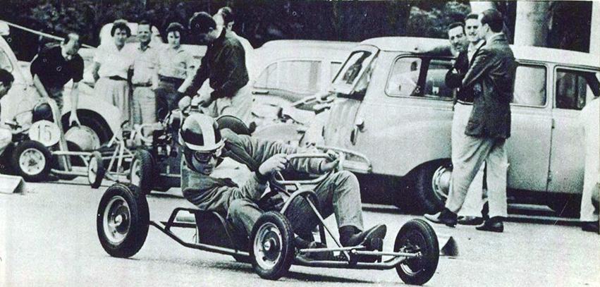 Rio de Janeiro e São Paulo eram os únicos estados que se tinha notícia das competições de Kart
