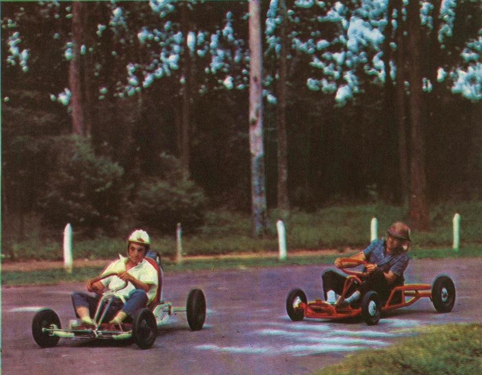 Pouca divulgação e nenhum local para competições foram os desafios do inicio do Kart no Brasil