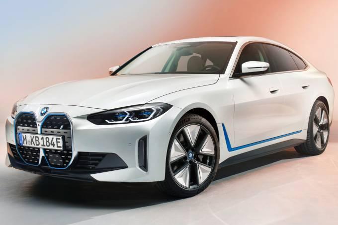 BMW i4 frente