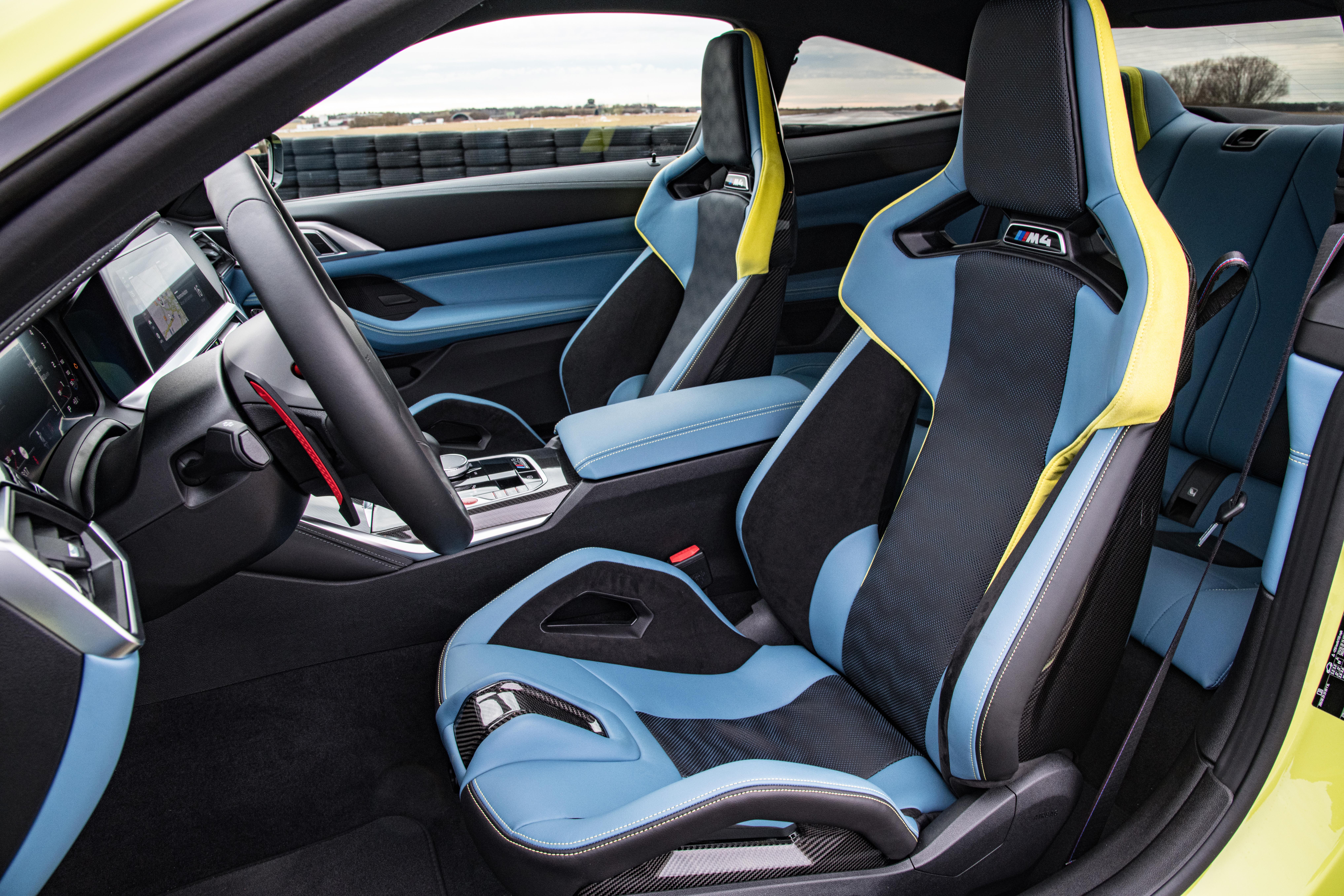 Banco dianteiro do BMW M4
