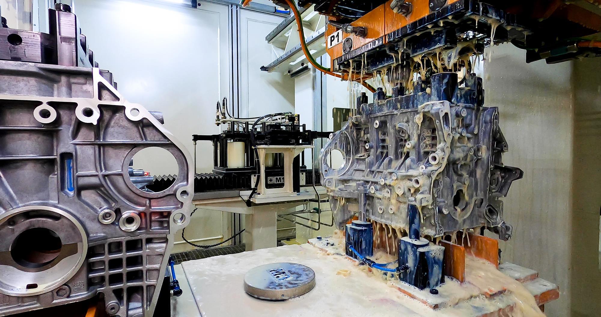 20210218-BETIM/MG - STELLANTIS- Motor GSE Turbo- Foto Leo Lara/Studio Cerri