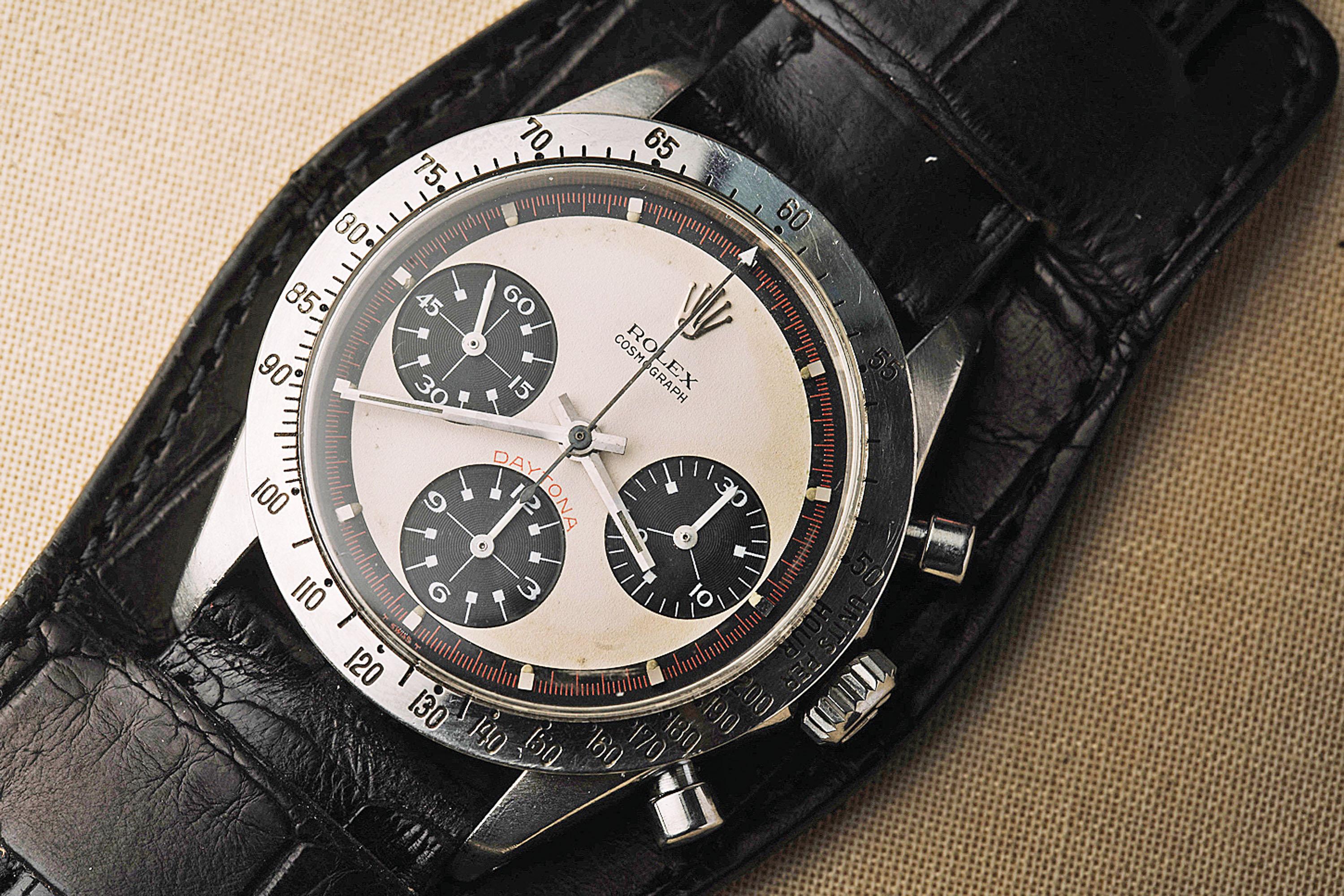 O Rolex Daytona de Paul Newman, lenda das telas e das pistas de corrida é o grande recordista de valor