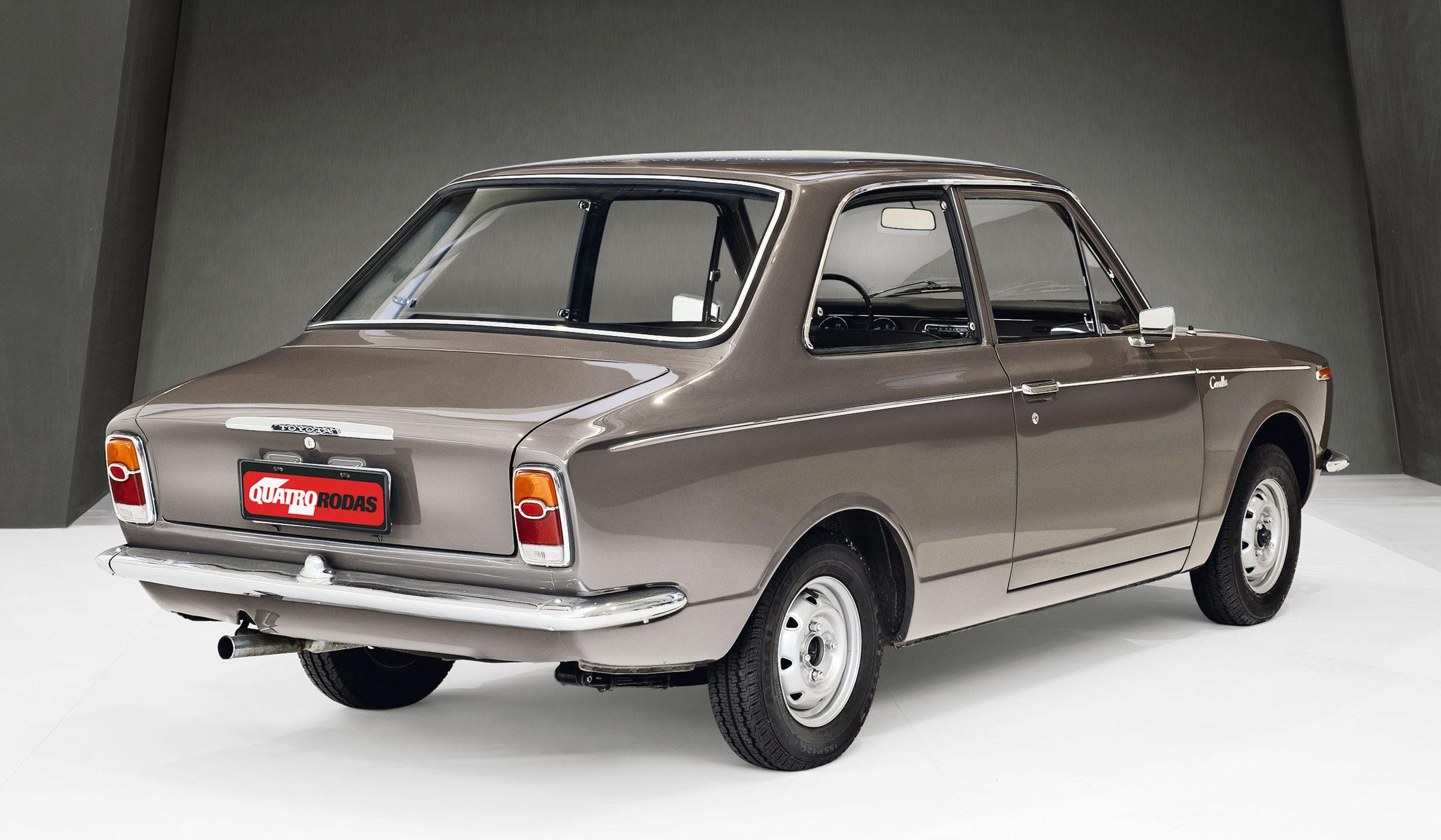 Toyota Corolla 1968 - clássicos QUATRO RODAS