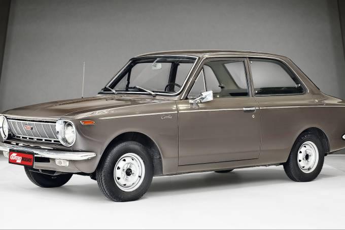 Toyota Corolla 1968 – clássicos