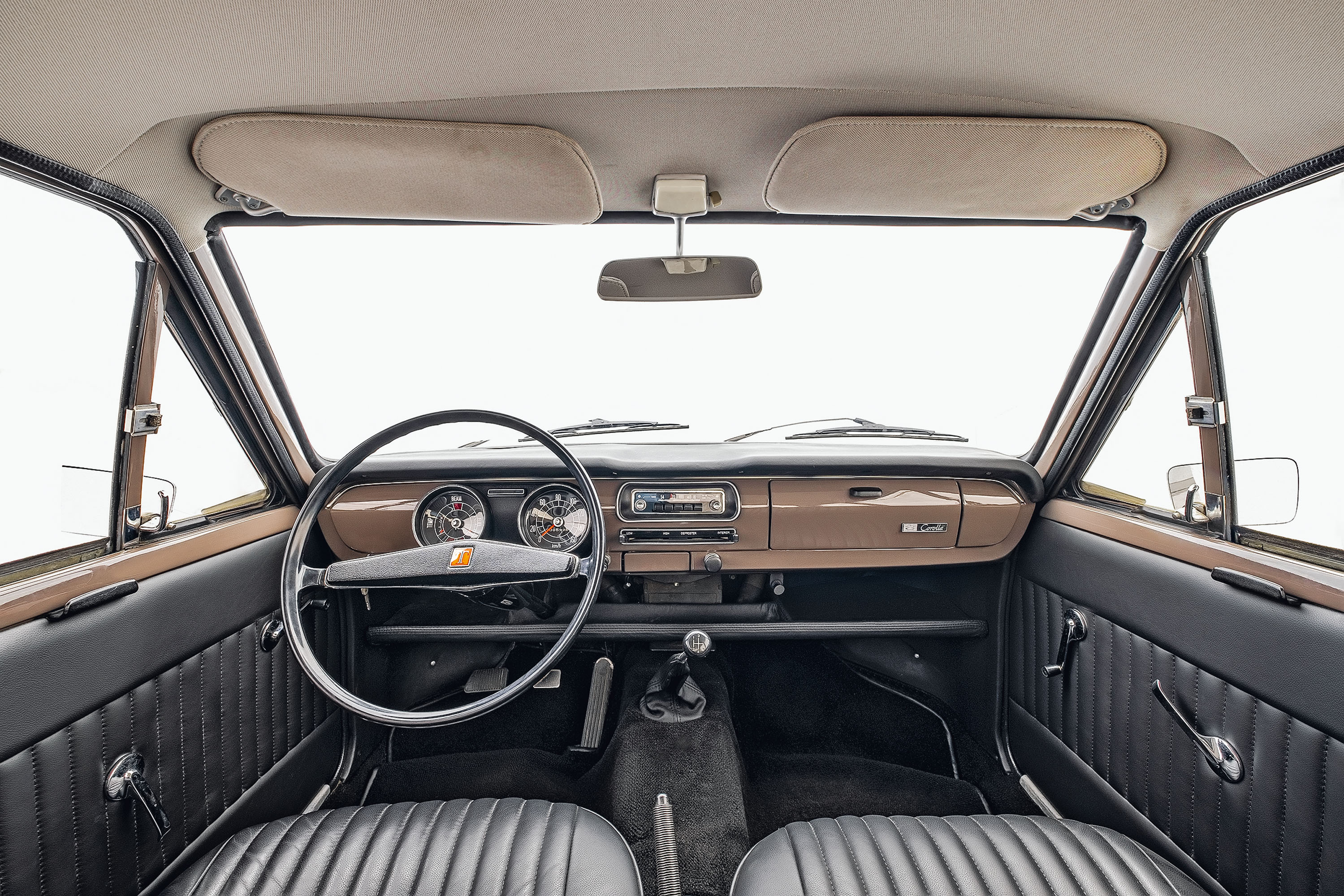 Toyota Corolla 1968 - clássicos QUATRO RODAS.