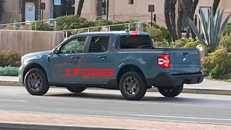 Coerência visual com Bronco Sport e F-150 é visível na nova picape
