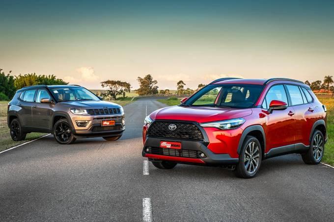 Jeep Compas Longitude é melhor que o Toyota Corolla Cross (1)
