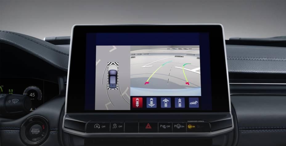 Carro terá sistema de visão 360º para manobras