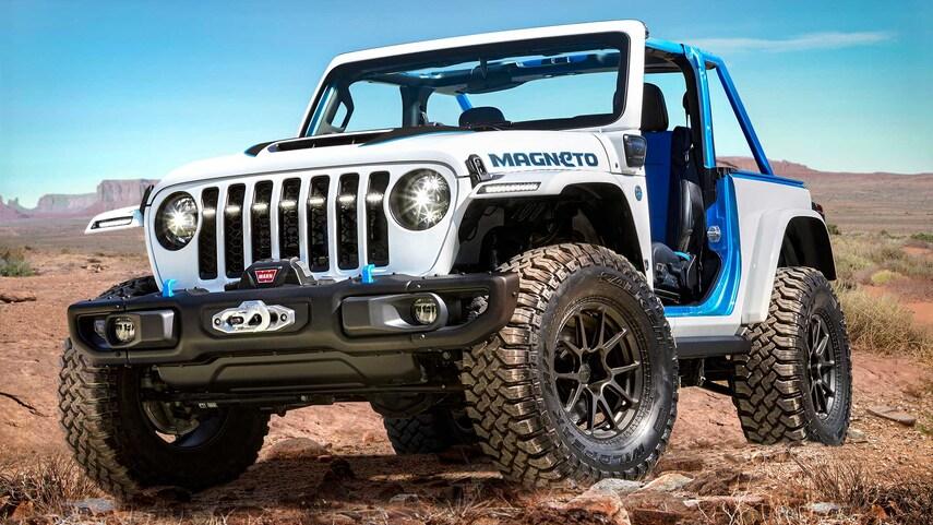 Jeep Wrangler Magneto elétrico