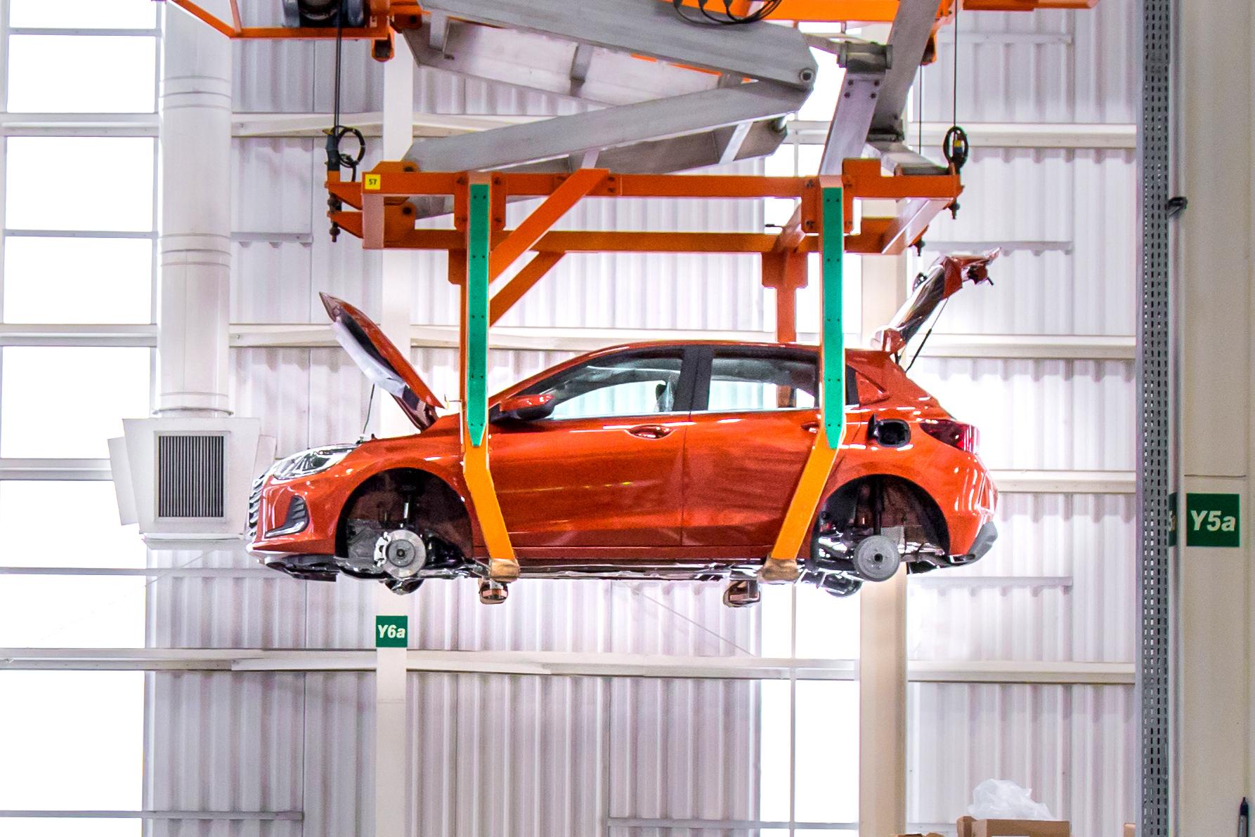 Chevrolet Onix na Linha de montagem da fábrica de Gravataí/RS