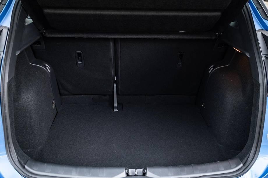 Porta-malas leva 432 litros