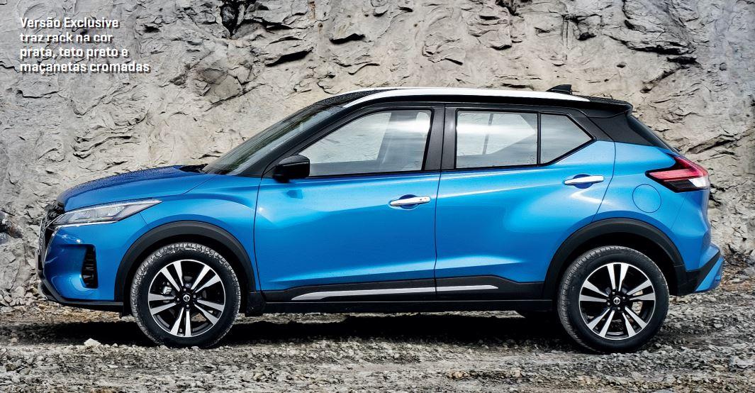 Nissan Kicks 2022 lateral