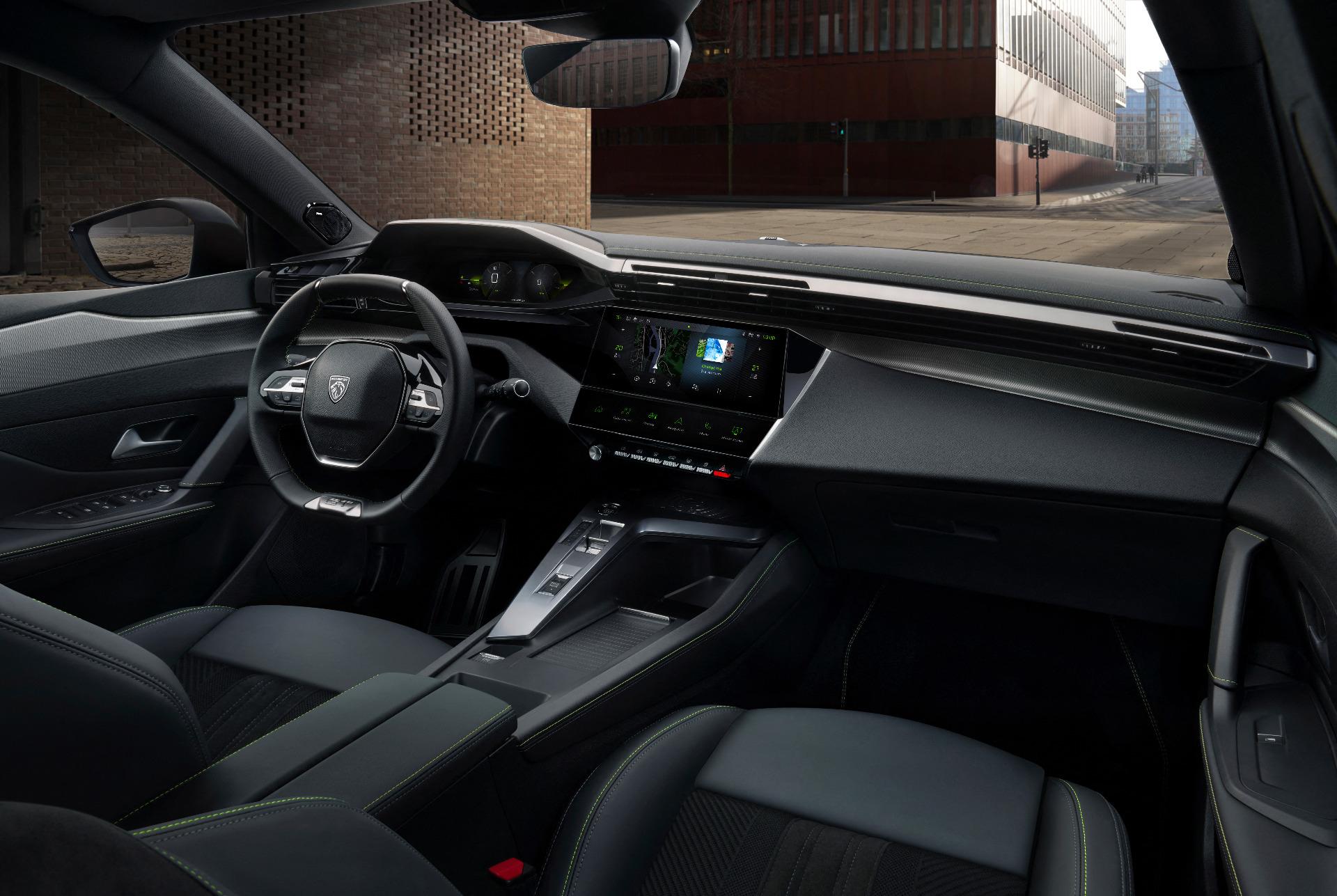 Interior do novo Peugeot 308