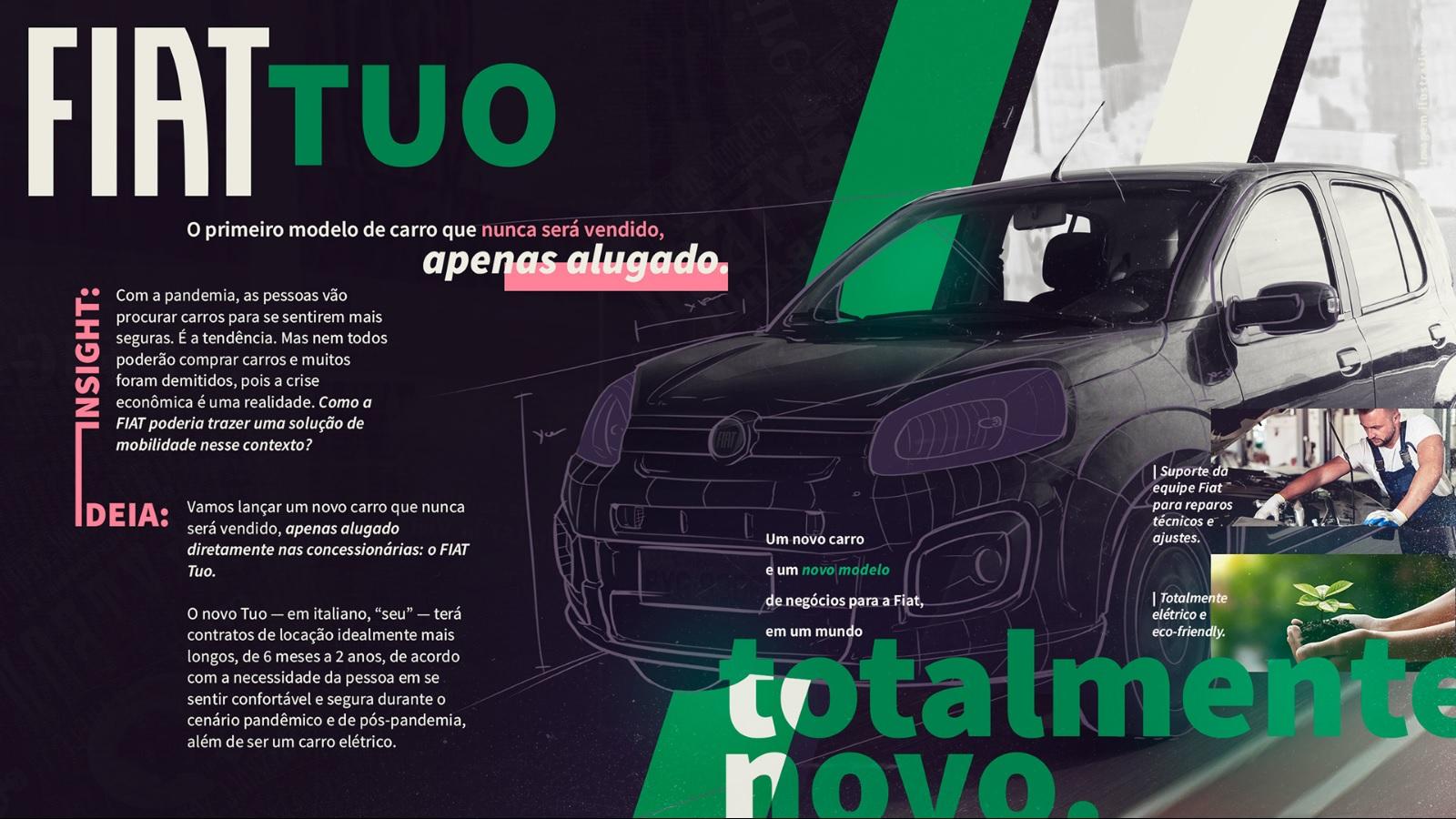 Idealizado por estudantes da Bahia, o Fiat Tuo não é exatamente um SUV