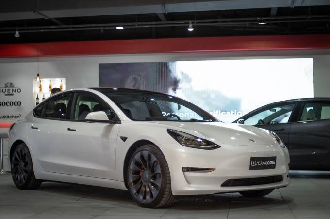 Tesla Model 3 Performance Olsten São Paulo