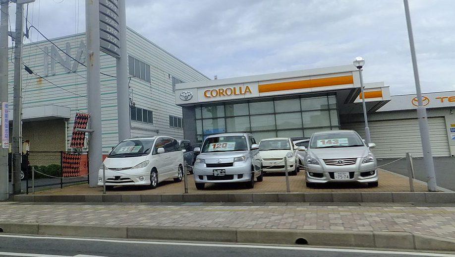 Toyota_Corolla_Sakaiminato_store