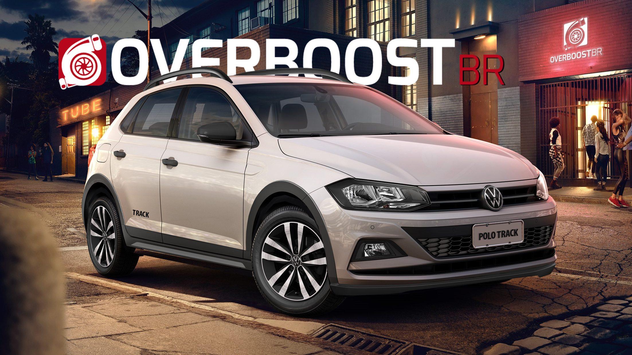 Projeção do Polo Track, o novo VW mais barato do Brasil