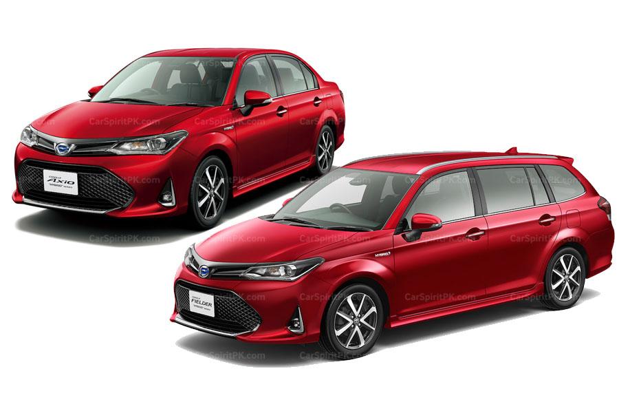 Toyota Corolla Axio e Fielder