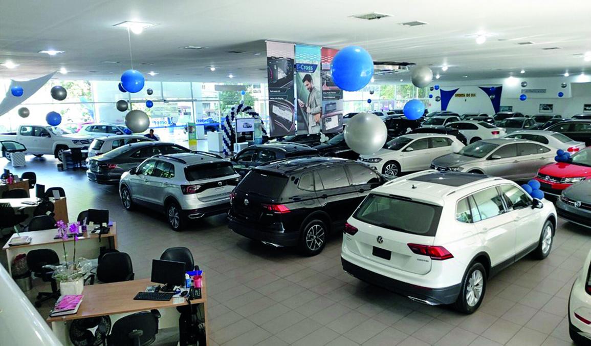 Aumento do preço dos carros