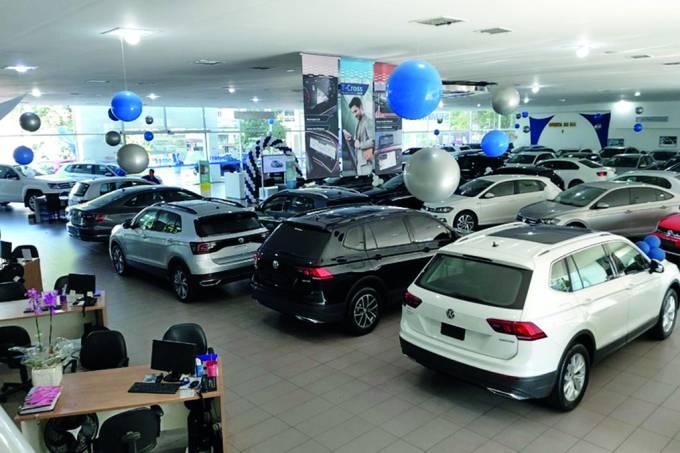 Showroom de carros
