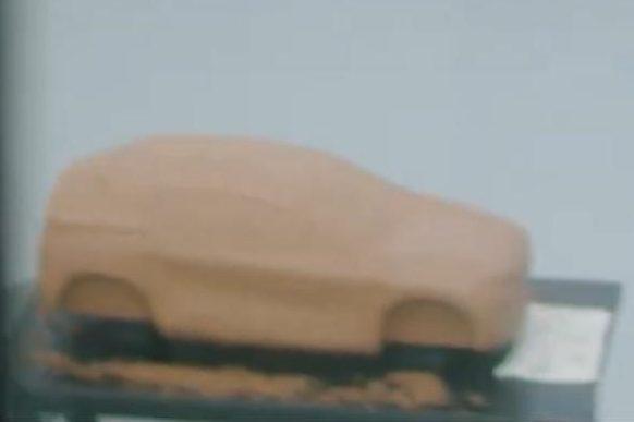 Um corte mais próximo do modelo de argila - Novo SUV FIAT