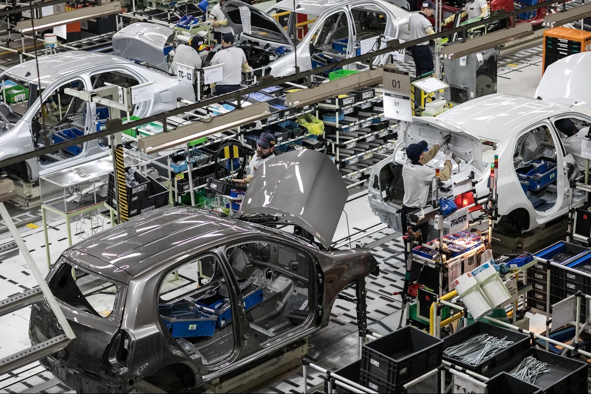 Linha da Toyota em Sorocaba foi adaptada recentemente para produzir o novo Corolla Cross