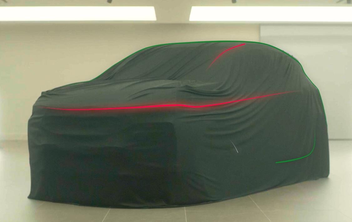 Na imagem: Um teaser permite que mostra o formato da carroceria e alguns detalhes da dianteira do SUV Fiat: Progetto 363