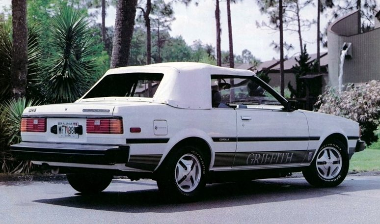 Corolla SR5 Convertible Griffith Limited Edition