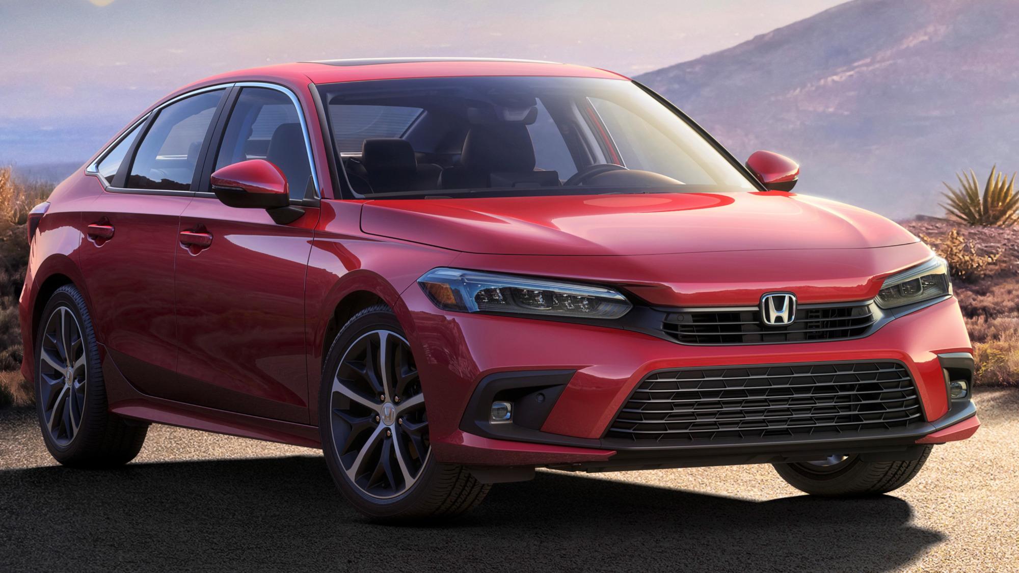Versão Touring é o topo-de-linha do novo Honda Civic 2022