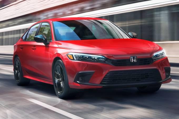 06 2022 Honda Civic Sedan Sport