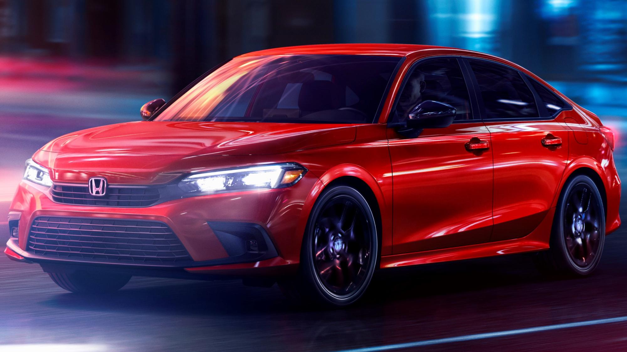 2022 Honda Civic Sedan Sport frente