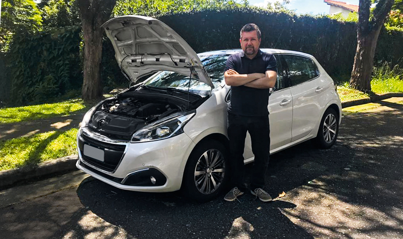 Autodefesa Peugeot Ar condicionado